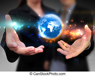 affaires mondiales, tenue, gens