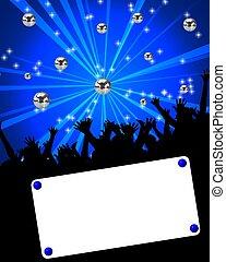 affiche, événement, danse