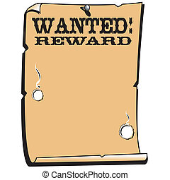 affiche, récompense, voulu, occidental, signe