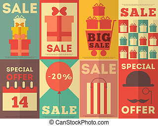 affiches, collection, vente