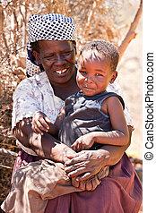 africaine, femme aînée