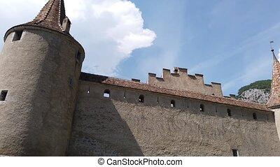 aigle, suisse, château
