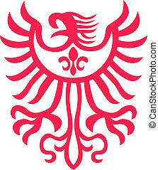aigle, symbole, conception
