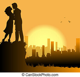 aimer couple, ville