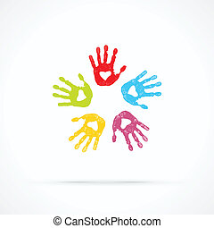 aimer, uni, mains