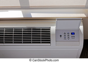 air, -, conditionnement, thermostat, chauffage