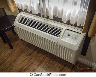 air, unité, conditionnement, chauffage