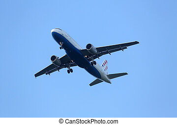 airbus, a320, zagreb, 9a-ctj, croatie, pleso, enregistrement, atterrissage, aéroport, lignes aériennes
