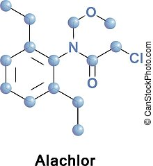alachlor, herbicide, chloroacetanilide