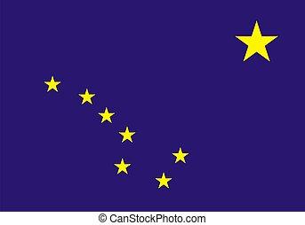 alaska drapeau