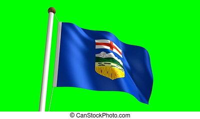 alberta drapeau