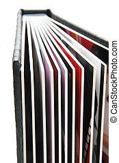 album, photo, 3, noir