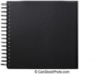 album, photo, noir