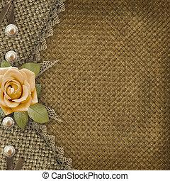 album, textile, couverture, photos