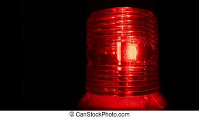 alerte, rouges, reveil, gyrophare