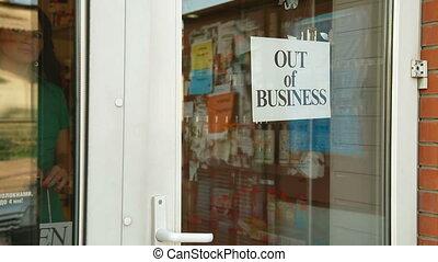 aller, business, dehors