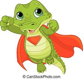 alligator, super