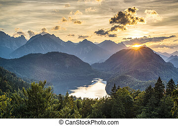 alpes, bavarois