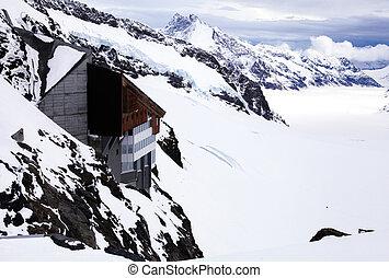 """alpes, jungfraujoch, -, europe"""", suisse, """"top"""