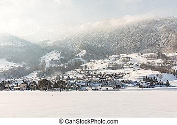 alpes suisses, suisse, davos