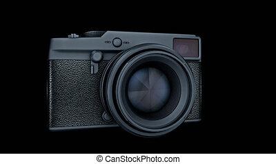 alpha, foto, transition, canal, appareil photo