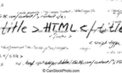 alpha, mat, code, html, boucle