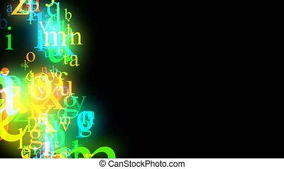 alphabet, boucle