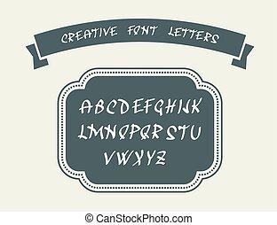 alphabet, lettres, anglaise
