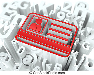 alphabet, sécurité, concept, internet, arrière-plan.