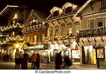 alpin, village ski