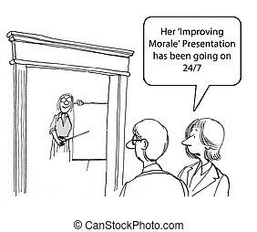 améliorer, morale