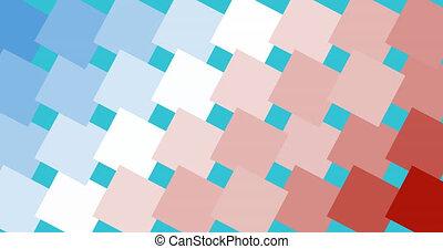 américain, couleurs, animation, pixelated, fond, drapeau