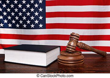 américain, droit & loi