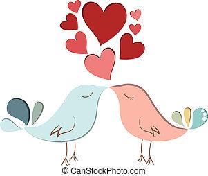 amants, oiseau