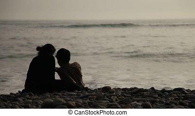amants, plage