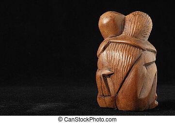 amants, sculpture