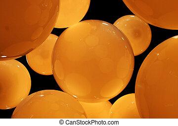 ambre, cercles