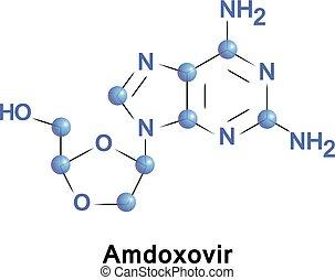 amdoxovir, aides, traitement, hiv