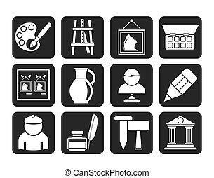 amende, objets, art, icônes