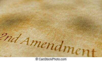 amendement, historique, document, 2ème