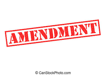amendement, timbre, caoutchouc