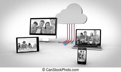 amis, vidéos, appareils