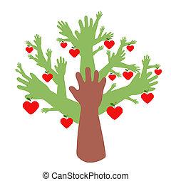 amitié, arbre