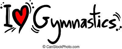 amour, gymnastique