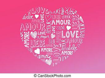 amour, mots