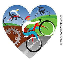 amour, nous, cyclisme