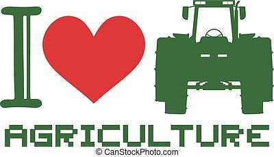 amour, symbole, agriculture