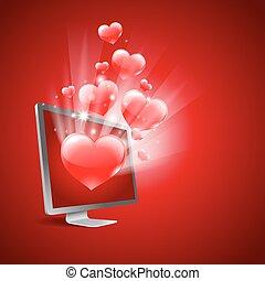 amour, virtuel