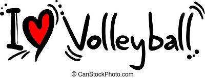 amour, volley-ball