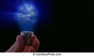 ampoule, lumière, globe, 1
